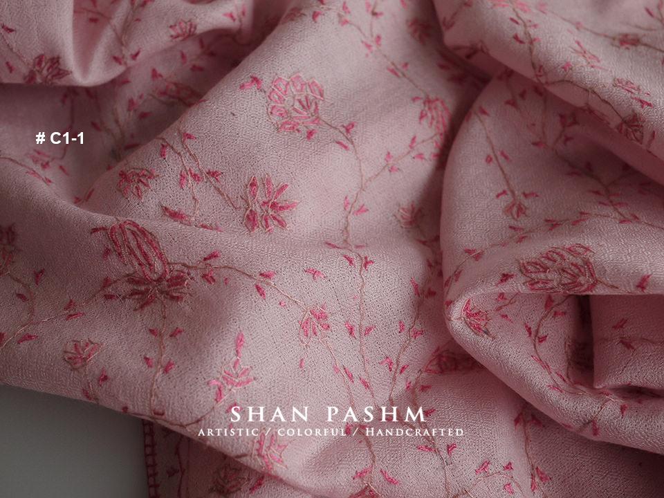 刺繡圍巾|初心印度羊毛圍巾披肩