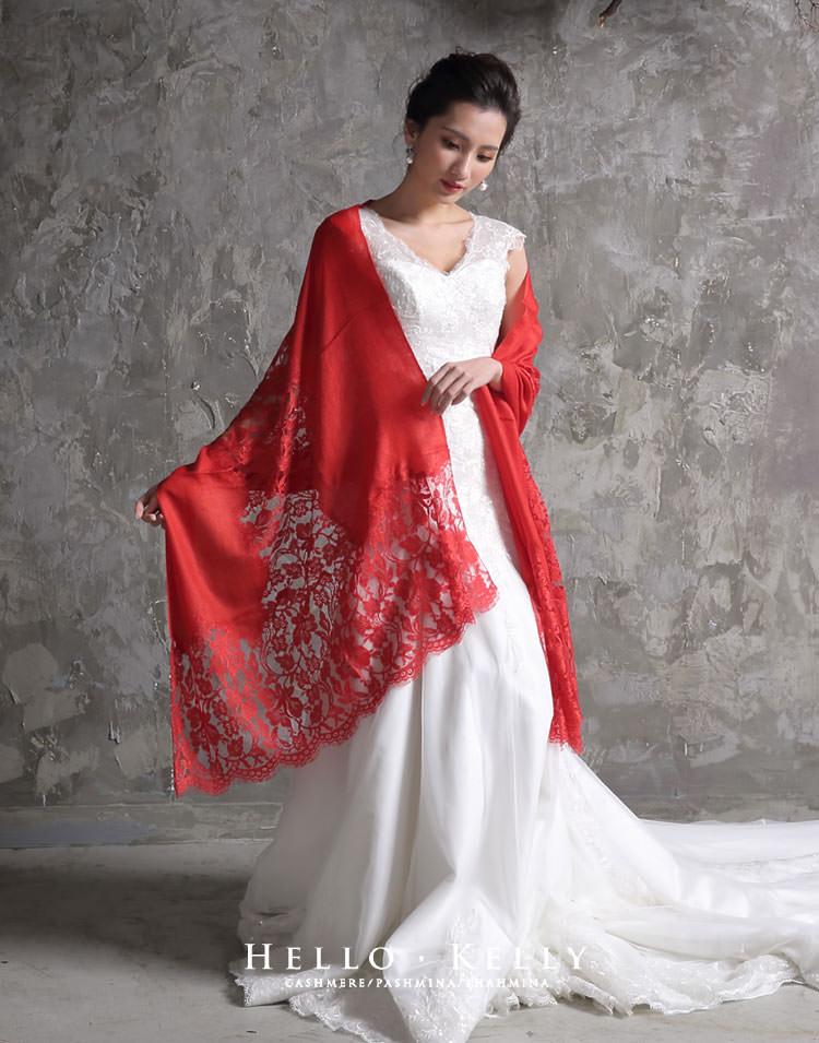 喀什米爾圍巾Cashmere100%羊絨羊毛圍巾披肩,結婚禮物推薦款