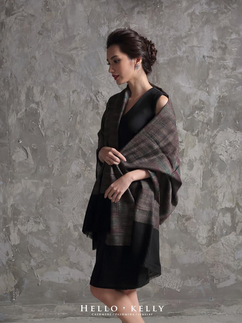 婚宴穿搭披肩圍巾推薦_Cashmere羊絨羊毛圍巾披肩