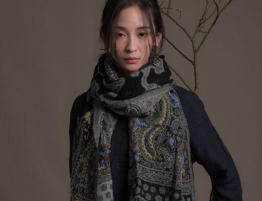 圍巾 水煮羊毛6種打法教給妳|冬天寒流穿搭術