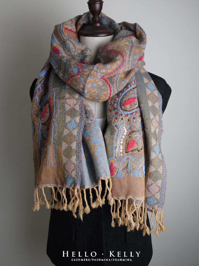 水煮羊毛推薦圍巾披肩,寒冬禦寒保暖款式#Bo59