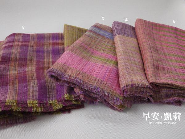 羊絨手織Pashmina圍巾披肩