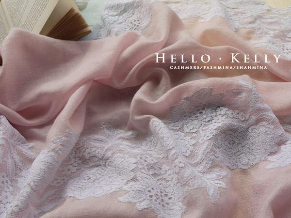 羊毛綴蕾絲圍巾披肩品牌推薦