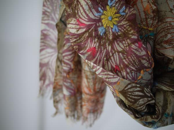 羊毛印花圍巾系列